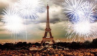 Silvestr v romantické Paříži
