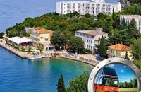 Zkrácená dovolená na Kvarneru v hotelu Adriatic s dopravou v ceně