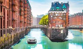 Hamburk a plavba na ostrov Helgoland