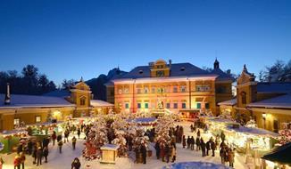 Vánoční návštěva čokoládovny Hauswirth a zámku Schloss Hof