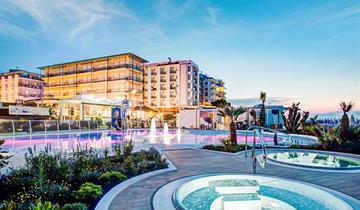 Hotel Mediterraneo (Cattolica, snídaně)
