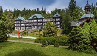 Z lázní na Praděd a zpět - Lázeňský hotel Slezský dům