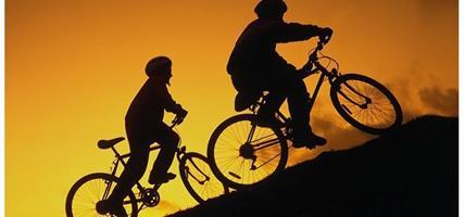 okolí Zell am See v pohodě na kole
