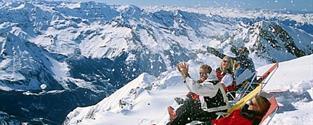 jednodenní lyžování Saalbach - Hinterglemm