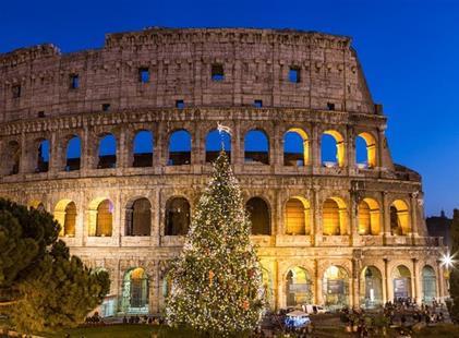 ITÁLIE - VÁNOČNÍ ŘÍM A VATIKÁN