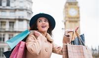 Předvánoční nákupy v Londýně