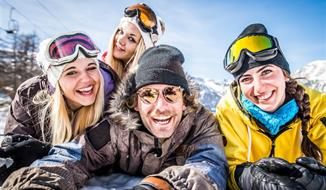 Jednodenní lyžování v Skicircus Saalbach