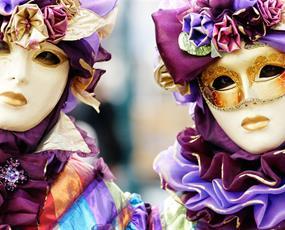 Karneval v Benátkách a ostrov Burano