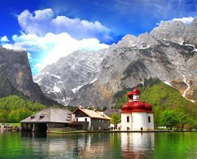 Jezero Königsee a Orlí hnízdo