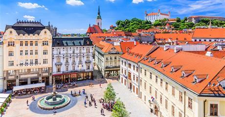Bratislava, Velký Meder a posezení v kolibě