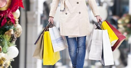 Předvánoční nákupy v Drážďanech