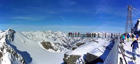 Jednodenní lyžování Sölden