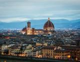 Předvánoční Florencie a světelný Betlém