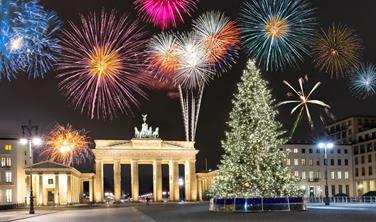 Silvestrovská párty v Berlíně
