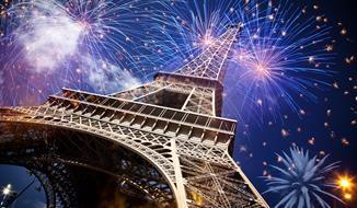 Paříž na konec roku - silvestr