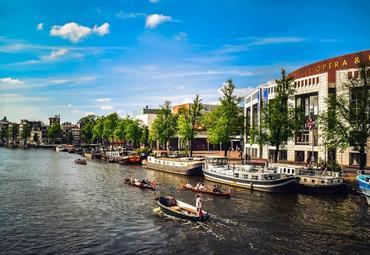 Světla a stíny Amsterdamu