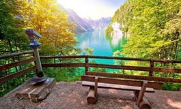 Salzburg, jezero Koenigsee se zastávkou na Orlím hnízdě