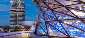 Svět BMW a Olympiapark Mnichov