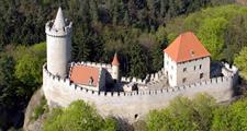 Kokořín, Ještěd a město Liberec