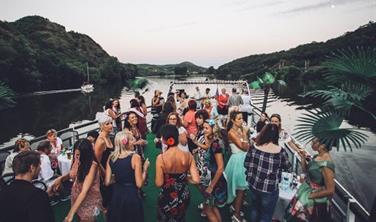 Kubánský večer na lodi