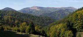 Štiavnické vrchy a Zvolenská pahorkatina na kole
