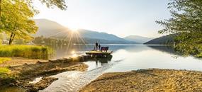Den u jezera Millstätter See