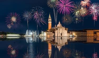 Silvestr v Benátské laguně
