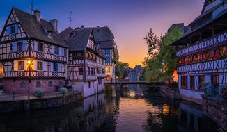 Adventní plavba s party: Štrasburk, Colmar, Eguisheim