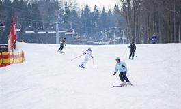 Skiareál Monínec - jeden den na lyže