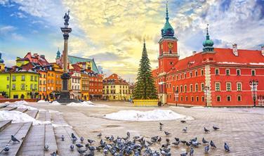 Adventní Varšava