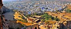 Indie - barvy pouštních měst