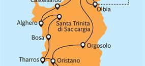Sardínie a Korsika - Smaragdové Perly