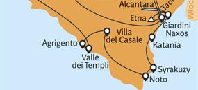 Sicílie - pozoruhodný ostrov z Palerma