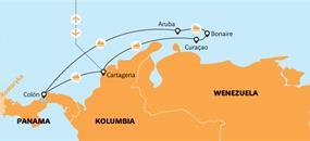 Antily a jižní Karibik - plavba z Cartageny