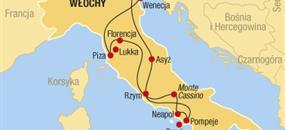Klasická Itálie - komfort