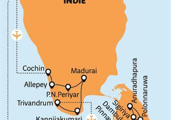Srí Lanka a jižní Indie - setkání dvou kultur
