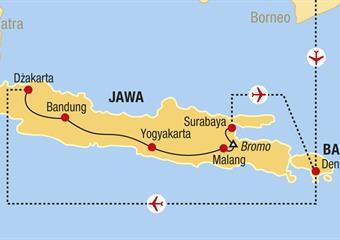Jáva a Bali - V krajině batikování de luxe