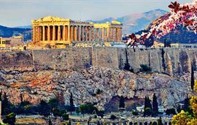 Selfie pod Akropoli