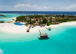 Maledivy, Srí Lanka, Indie - západy slunce nad Indickým oceánem