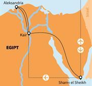 Sharm El Sheikh, Káhira, Alexandrie - Ve stínu Velké sfingy