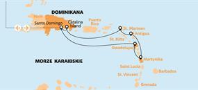 Návětrné ostrovy - plavba