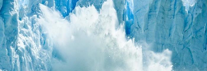 Blankytně modré ledovce - de luxe