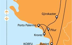 Kouzlo Korfu a divoká Albánie