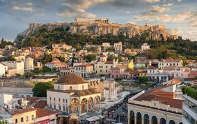 Řecko pro spořivé (přelet do Atén)