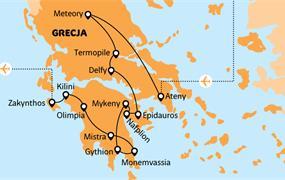 Řecko pro spořivé (přelet do Athén)
