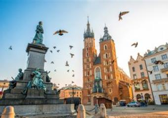Královské Město Krakov A Solné Doly Vělička