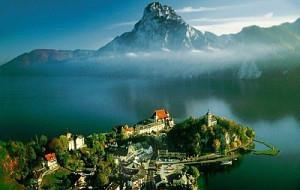 Alpská Jezera A Vodopád Hohenzollern