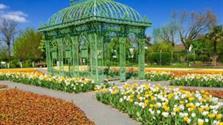 Císařské Zahrady A Zoo V Hirschtetten