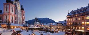 Čerti V Sankt Sebastian A Adventní Trhy V Mariazell