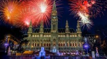 Silvestr V Ulicích Vídně